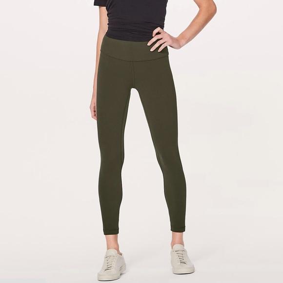 52e773b21c lululemon athletica Pants | Nwt Lululemon Dark Olive Align Pant Ii ...